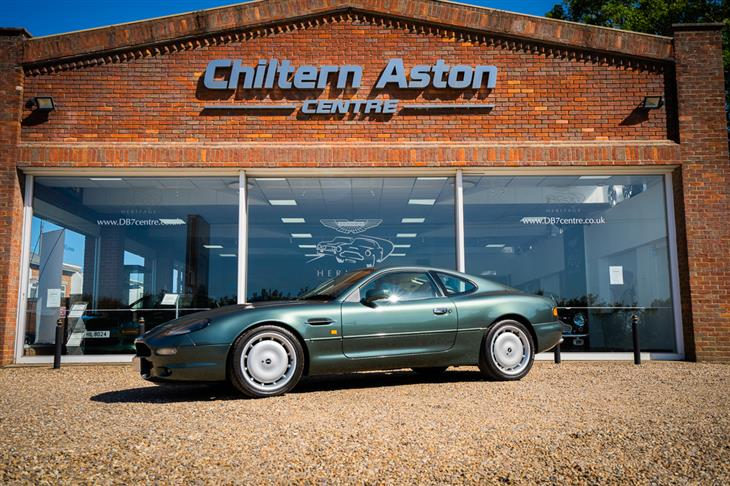 Classic Aston Martin Db7 Coupe Auto For Sale Classic Sports Car Ref Hertfordshire