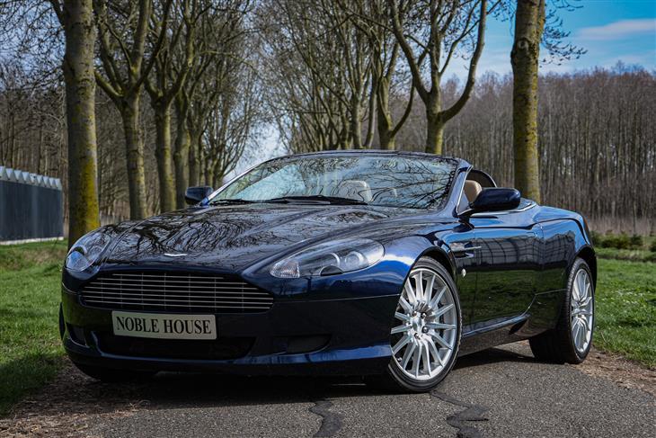 Classic Aston Martin Db9 Volante For Sale Classic Sports Car Ref Flevoland