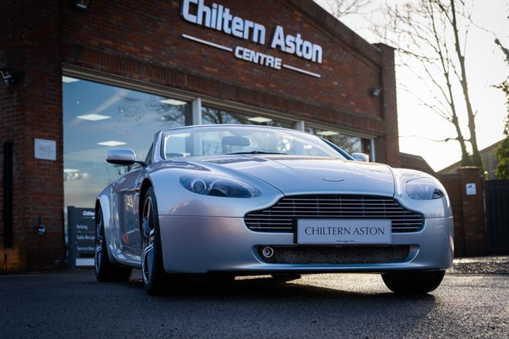 Classic Aston Martin Vantage V8 Roadster N400 For Sale Classic Sports Car Ref Hertfordshire