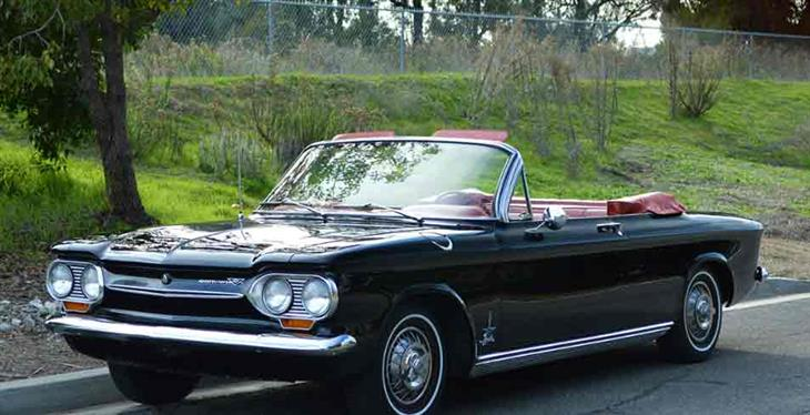 1963 Chevrolet Corvair Turbo Monza Spyder For From Clic Showcase In California United States