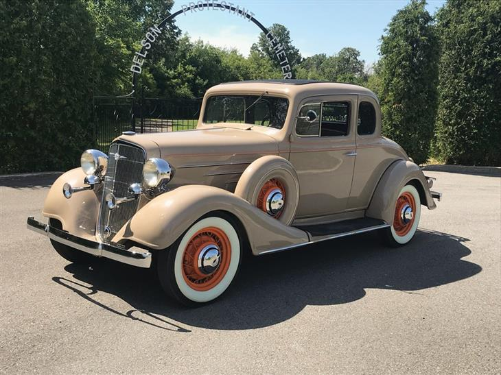 Classic 1934 Chevrolet Master Six Coupe for sale - Classic