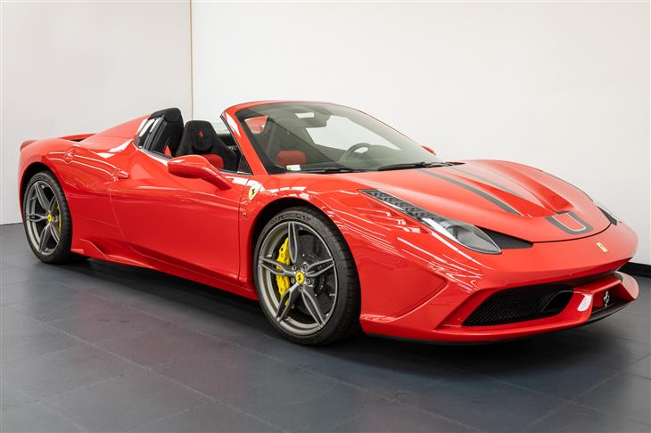 Classic Ferrari 458 Speciale Aperta Lhd 1 Of 499 World For Sale Classic Sports Car Ref Shropshire
