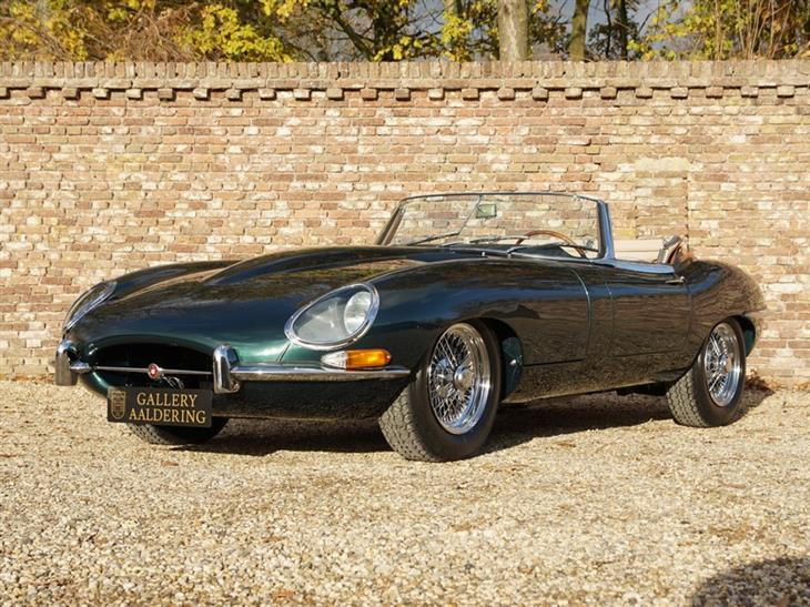 Jaguar E Type 4 2 Series 1 Convertible Red Condition Original Colours 1966 For From Gallery Aaldering In Nl Netherlands