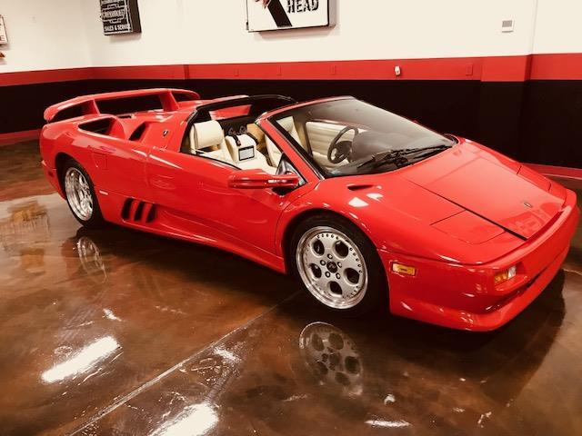 Classic 1997 Lamborghini Diablo Vt Roadster For Sale Classic