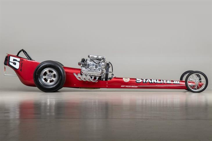 Classic 1964 Fuller Roberts Starlite Iii Top Fuel Dragster For Sale Classic Sports Car Ref California