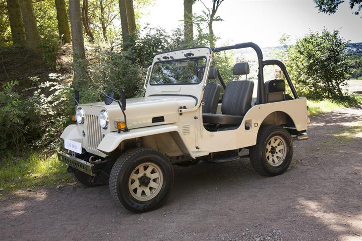 Classic Willys 1998 Mitsubishi Jeep 2 7 Td J55 For Sale
